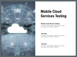 Mobile Cloud Services Testing Ppt Powerpoint Presentation File Layout Ideas Cpb