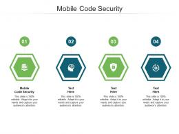 Mobile Code Security Ppt Powerpoint Presentation Professional Ideas Cpb