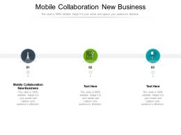 Mobile Collaboration New Business Ppt Powerpoint Presentation Show Ideas Cpb
