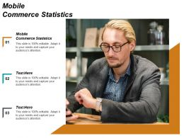 Mobile Commerce Statistics Ppt Powerpoint Presentation Infographic Template Graphics Template Cpb