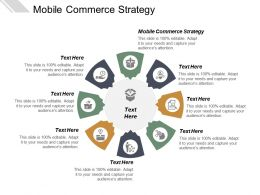 Mobile Commerce Strategy Ppt Powerpoint Presentation Professional Slide Cpb
