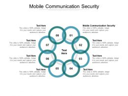 Mobile Communication Security Ppt Powerpoint Presentation Pictures Graphics Example Cpb