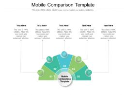 Mobile Comparison Template Ppt Powerpoint Presentation Summary Introduction Cpb