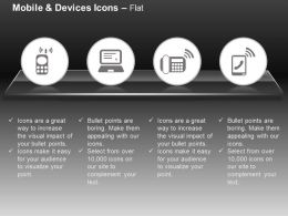 Mobile Computer Wifi Connection Tablet Ppt Icons Graphics