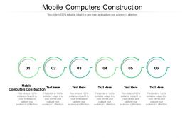 Mobile Computers Construction Ppt Powerpoint Slides Summary Cpb