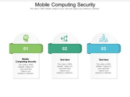 Mobile Computing Security Ppt Powerpoint Presentation Outline Styles Cpb