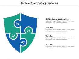 Mobile Computing Services Ppt Powerpoint Presentation Ideas Cpb