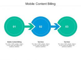 Mobile Content Billing Ppt Powerpoint Presentation Infographics Backgrounds Cpb