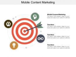 Mobile Content Marketing Ppt Powerpoint Presentation Infographic Template Graphics Tutorials Cpb