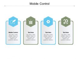 Mobile Control Ppt Powerpoint Presentation Layouts File Formats Cpb