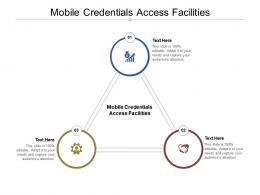 Mobile Credentials Access Facilities Ppt Powerpoint Presentation Infographic Template Graphics Cpb