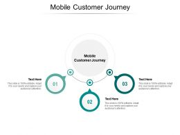 Mobile Customer Journey Ppt Powerpoint Presentation Infographic Template Model Cpb