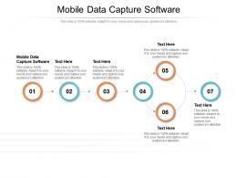 Mobile Data Capture Software Ppt Powerpoint Presentation Inspiration Maker Cpb