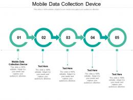 Mobile Data Collection Device Ppt Powerpoint Presentation Sample Cpb