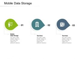 Mobile Data Storage Ppt Powerpoint Presentation Show Slideshow Cpb