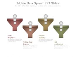 Mobile Data System Ppt Slides