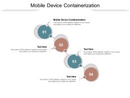 Mobile Device Containerization Ppt Powerpoint Presentation Infographic Template Background Cpb