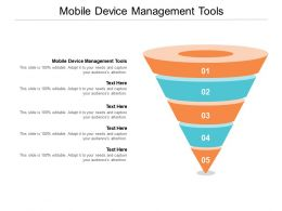 Mobile Device Management Tools Ppt Powerpoint Presentation File Picture Cpb