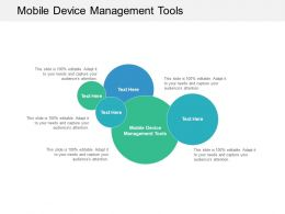 Mobile Device Management Tools Ppt Powerpoint Presentation Professional Gallery Cpb