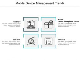 Mobile Device Management Trends Ppt Powerpoint Presentation Professional Grid Cpb