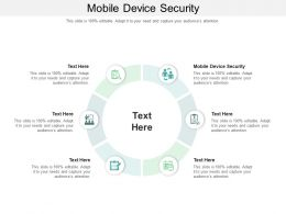 Mobile Device Security Ppt Powerpoint Presentation Inspiration Mockup Cpb