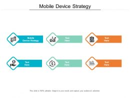 Mobile Device Strategy Ppt Powerpoint Presentation Icon Graphics Download Cpb