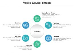 Mobile Device Threats Ppt Powerpoint Presentation Outline Example File Cpb