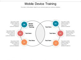 Mobile Device Training Ppt Powerpoint Presentation Infographic Template Example Topics Cpb