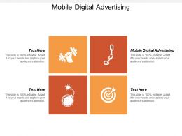 Mobile Digital Advertising Ppt Powerpoint Presentation Infographic Template Grid Cpb