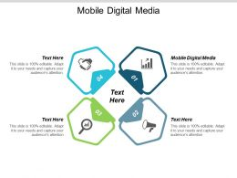 Mobile Digital Media Ppt Powerpoint Presentation Professional Layouts Cpb