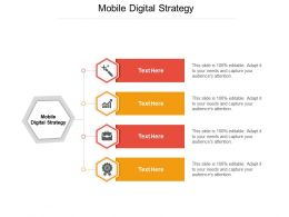 Mobile Digital Strategy Ppt Powerpoint Presentation Summary Demonstration Cpb
