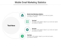 Mobile Email Marketing Statistics Ppt Powerpoint Presentation Ideas Picture Cpb