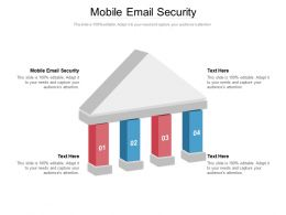 Mobile Email Security Ppt Powerpoint Presentation Infographics Template Cpb