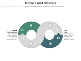 Mobile Email Statistics Ppt Powerpoint Presentation Layouts Visual Aids Cpb