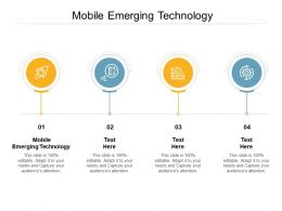 Mobile Emerging Technology Ppt Powerpoint Presentation Model Gallery Cpb
