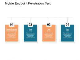 Mobile Endpoint Penetration Test Ppt Powerpoint Presentation Pictures Layout Ideas Cpb