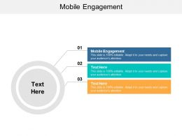 Mobile Engagement Ppt Powerpoint Presentation Slides Model Cpb
