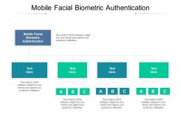 Mobile Facial Biometric Authentication Ppt Powerpoint Presentation Icon Guidelines Cpb