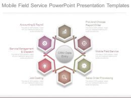 Mobile Field Service Powerpoint Presentation Templates