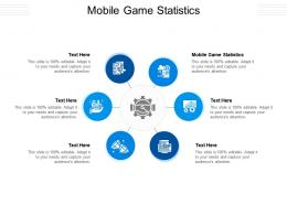 Mobile Game Statistics Ppt Powerpoint Presentation Icon Graphics Example Cpb