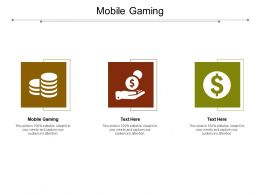 Mobile Gaming Ppt Powerpoint Presentation Outline Samples Cpb