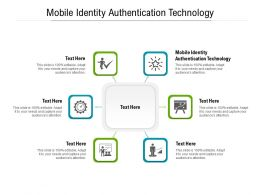 Mobile Identity Authentication Technology Ppt Powerpoint Presentation Summary Templates Cpb