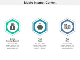Mobile Internet Content Ppt Powerpoint Presentation Styles Show Cpb