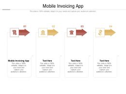 Mobile Invoicing App Ppt Powerpoint Presentation Pictures Files Cpb