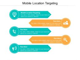 Mobile Location Targeting Ppt Powerpoint Presentation Professional Display Cpb