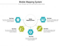 Mobile Mapping System Ppt Powerpoint Presentation Portfolio Infographic Template Cpb