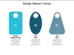 Mobile Market Trends Ppt Powerpoint Presentation Model Elements Cpb