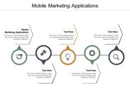 Mobile Marketing Applications Ppt Powerpoint Presentation Summary Format Ideas Cpb