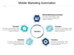 Mobile Marketing Automation Ppt Powerpoint Presentation Ideas Portrait Cpb