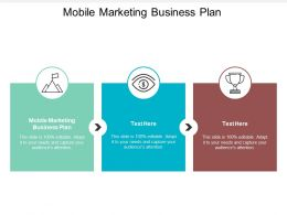 Mobile Marketing Business Plan Ppt Powerpoint Presentation Outline Example Introduction Cpb